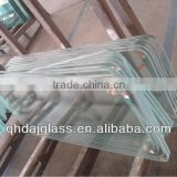 3-19mm CCC&ISO9001:2008 low iron tempered toughened glass