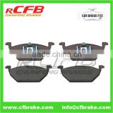 CAR PART CAR BRAKE PAD FOR VOLKSWAGEN BORA/JETTA/FOX/GOL/GOLF/NEW BEETLE/POLO MK