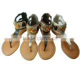 women leather sandal woman beach sandal shoes