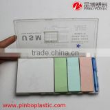 High quality multicolor filler notebook/Memo Pad,easy to take loose leaf notebook/sticky note