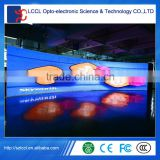 Wholesale and Retail / High brightness P4 indoor rental advertising led display / P4 led wall