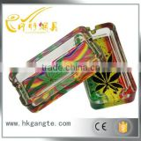 high quality ,Creative personality sayings ashtray glass ashtray men fashion and practical small gifts A rectangle