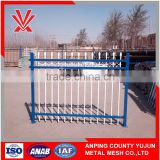 Anping supplier 2.1m high spear top wrought iron security garrison fence