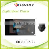3.5''Color Screen Wireless Night Vision Gsm Doorbell for Apartment