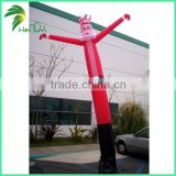 Outdoor inflatable promotion christmas air dancer,sale mini air dancer , 6m high air dancer