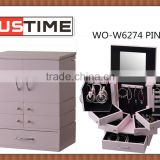 Small mirrored jewelry box, Wooden jewelry boxes decorate, Home decoration furniture