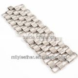 2014 wholesale multi-chain quality fashion bracelet stainless steel fashion magnetic bracelet charm MLCMB022