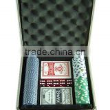 High quality and hot popular poker chip set