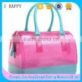 wholesale candy handbag silicone,ladies silicone bag,fashion silicone Tote bag