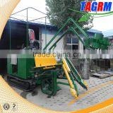 New sugar cane harvester with top chopper/mini sugar cane harvesting machine/cane harvester with high productivity low price