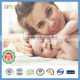 Bamboo Quilted Waterproof Baby Crib Mattress Protector
