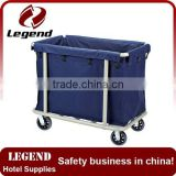 Efficient and durable hotel housekeeping maid trolley