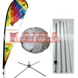Advertising stand Water bag for cross base banner stand feather flag water base