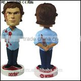make your design bobble head painted your logo,custom made 5 inch bobble head toys,collection edition