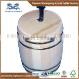 Hot Sale Oem Design Small And Mini Wooden Coffee Bean Barrel,High Quality Wooden Coffee Bean Barrel