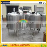 lager ale beer brewing system hotel brewpub 300l 500l 3bbl 5bbl beer brewery equipment