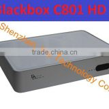 Newest Singapore hd cable tv box for BLACKBOX C801 HD with wifi support HD channels