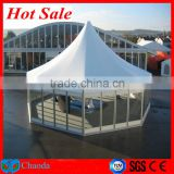 2014 Cheap hot sale CE ,SGS ,TUV cetificited aluminum alloy frame and PVC fabric geodesic dome tent