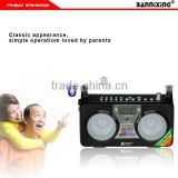 B-658E TF card Square Dancing Machine portable mini speaker with fm radio