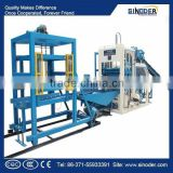 Sinoder Brand QT QT5-15 Hollow block machinary Solid Brick Machinery Cement Sand Brick Making Machine