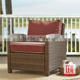 luxury dinning rattan pe chair and table sets/antique living room chairs/Polyethylene Wicker Rattan Patio Chair