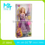 2016 New !Eco-friendly PVC Movable Joints 11 Inch barbie Tangle princess barbie doll(2 Model Mixed)