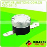 "LINGTONG Good Quality 1/2"" DISK BIMETAL THERMOSTAT KSD-301D"