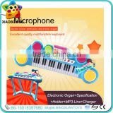 New design toy piano with microphone keyboard piano electronic organ