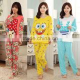 Wholesale Animal Casual Pyjama For Sleep cute Women Winter Pijama Pajamas Set Feminino Inverno Sleepwear Dormir Homewear Suit