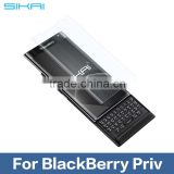 For BlackBerry Priv Glossy High Clear Transparent LCD Screen Protector Protective Guard Film
