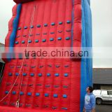 Factory Price rock climbing wall, challenging inflatable rock climb wall