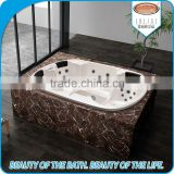 6 person double whirlpool massage bathtubs hot tub