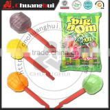 21g whistle lollipop / Whistle Big Bom XXL Lollipop with bubble gum