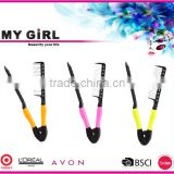 MY GIRL New Professional Private Label Products Magic Hair Straighting Tools Ionic Hair Straightening Comb