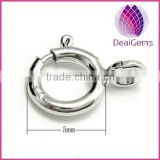 Wholesale 925 sterling silver spring clasp jewelry finding