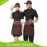 Top Quality hot sell stylish hotel polo jacket uniform