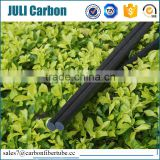 professional factory high strenght low price solid carbon fiber rod for ski pole