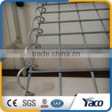 Long use life Heat-dispersing 50mm hole size Welded mesh gabion box