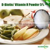 D-Biotin Vitamin H Powder 5% Food Grade