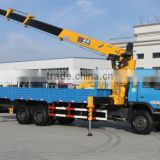 PERFECT truck-arm 6*4 series straight arm crane Engine B210 33 Rated load(Kg)10500