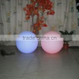 Beach decoration LED ball PE plastic ball shell UV-anti