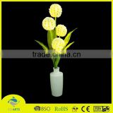 Artificial Pre-lit Lights Small white porcelain flower potted indoor bonsai