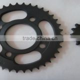 High Quality 36/14 Motorcycle sprocket,CD110 motorcycle sprocket wheel