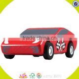 wholesale baby wooden sports car toy funny kids mini car toy wooden sports car toy W04A029