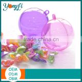 Mix Color Plastic Ball Holiday Time Christmas Decorations