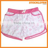 mens/womens 4 way stretch board shorts polyester spandex, custom blank board shorts Stock Wholesale