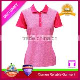 wholesale cool-dry polo t-shirt, golf women polo sport t shirt China clothing manufacturers