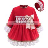 little queen flower girl dress baby girl western wear
