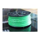 Green PLA ABS Plastic Filament / 3D Printer Filament PLA Grade A