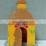 plastic small house crafts